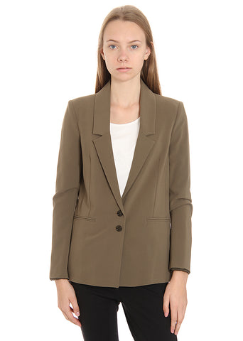 Patrizia Pepe Brown Formal jacket