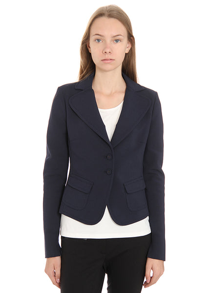 Patrizia Pepe Blue Formal jacket