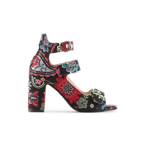 Made in Italia black,hotpink Women Sandals