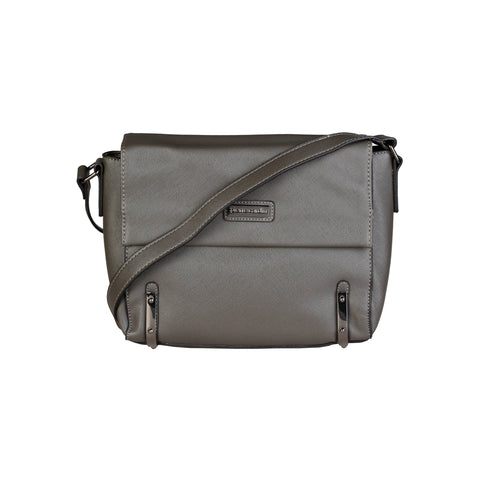Pierre Cardin Grey Crossbody Bags