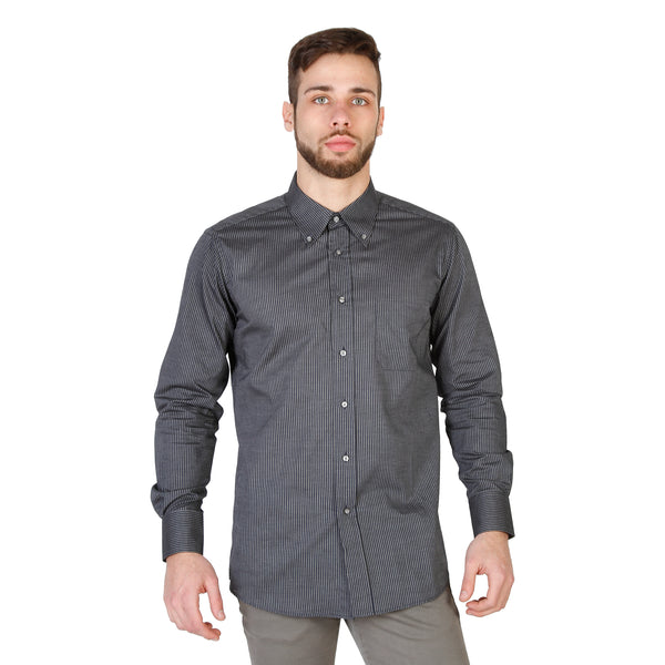 Von Furstenberg Blue Men Shirts