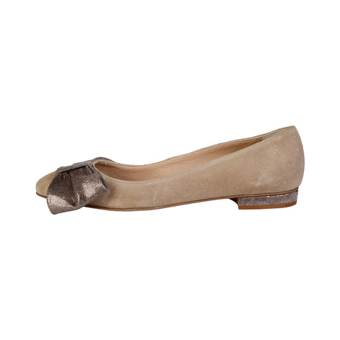 V 1969 Brown Women Ballet flats