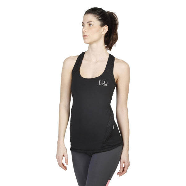 Elle Sport Black Tops