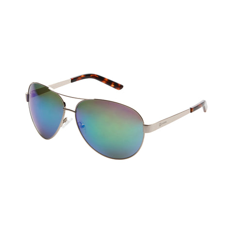 Guess silver,limegreen Unisex Sunglasses