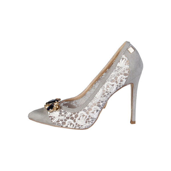 Laura Biagiotti  Grey Women Pumps & Heels