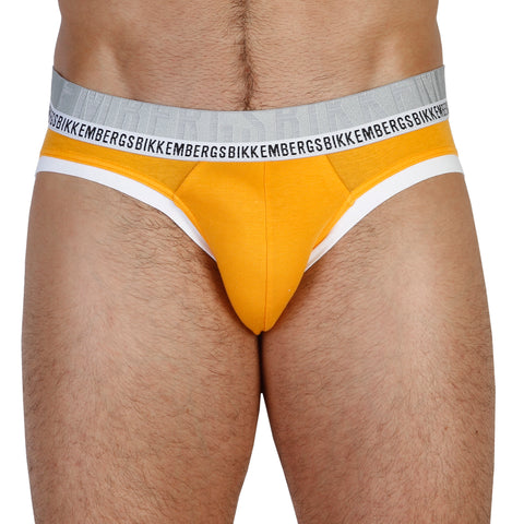 Bikkembergs Orange Men Brief