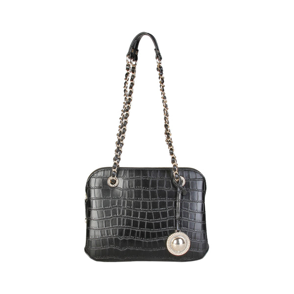 Versace Jeans Black Women Shoulder bags