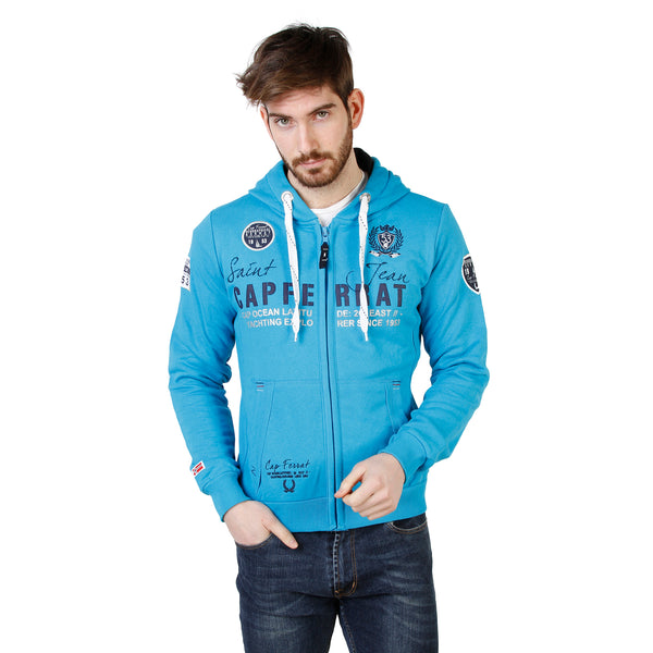 Geographical Norway Blue Men Sweatshirts
