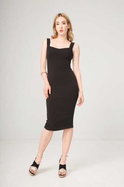 Fontana 2.0 Black Women Dresses