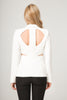 Fontana 2.0 White Women Formal jacket