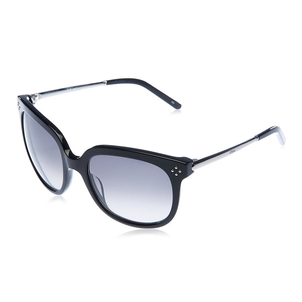 Chloe Black Women Sunglasses