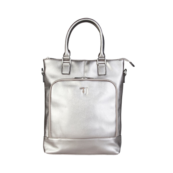 Trussardi Grey Women Shopping bags