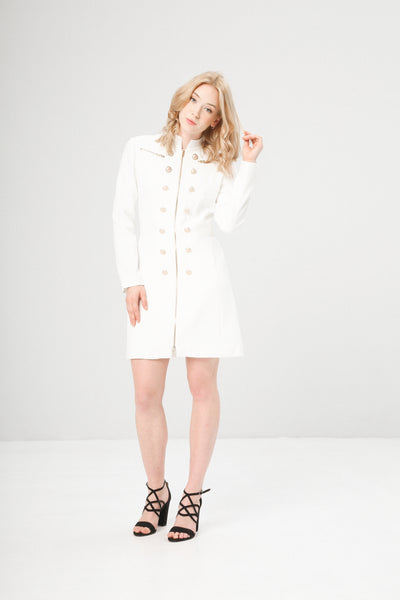 Fontana 2.0 white, gold Women Coats