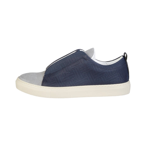 Made in Italia Blue Men Sneakers
