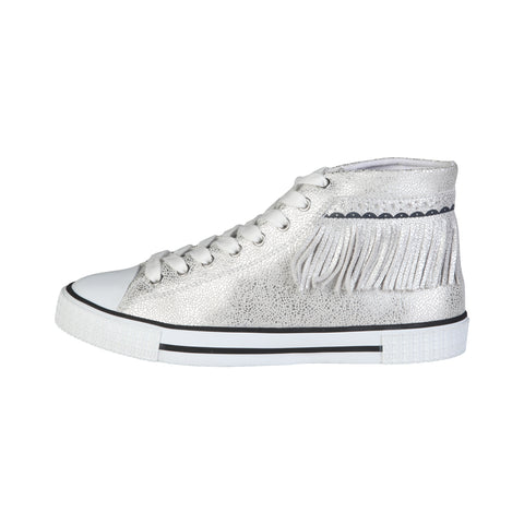 Trussardi Grey Women Sneakers