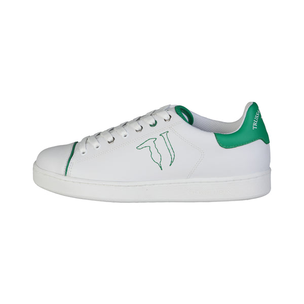 Trussardi White Men Sneakers