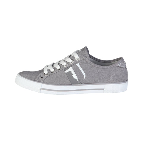 Trussardi Grey Men Sneakers