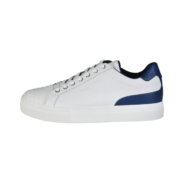 Trussardi white, blue Men Sneakers