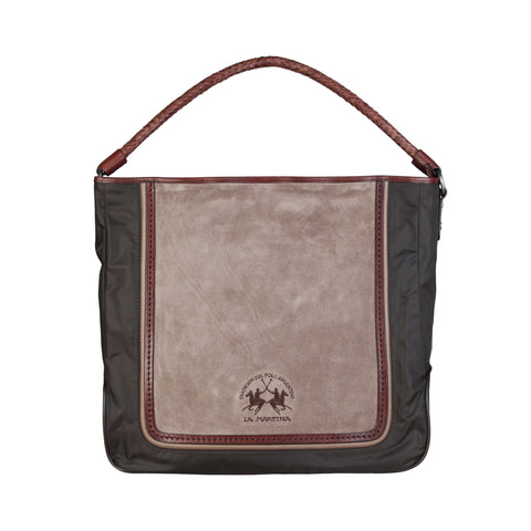 La Martina Brown Women Shopping bags