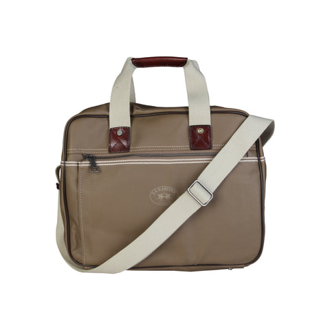 La Martina Brown Women Briefcases