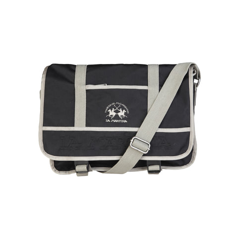 La Martina Black Unisex Briefcases
