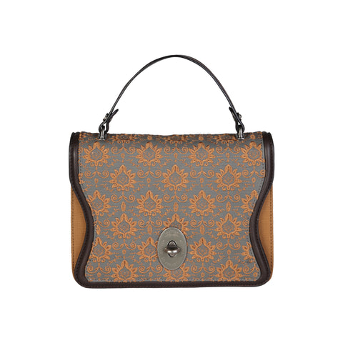 La Martina Brown Women Handbags