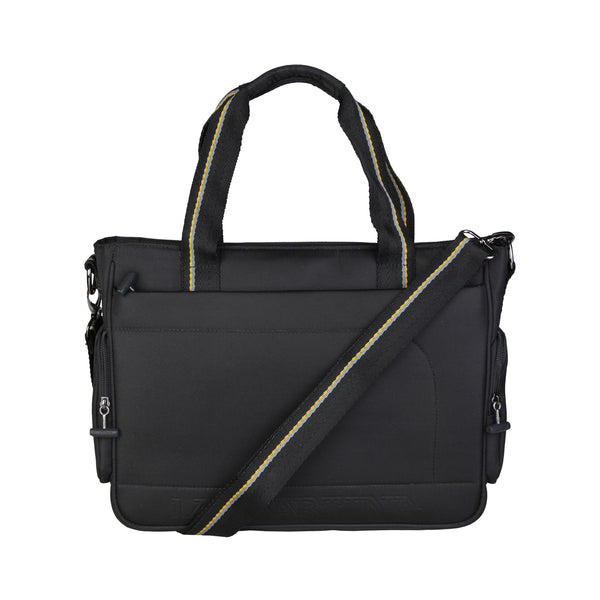 La Martina Black Men Briefcases