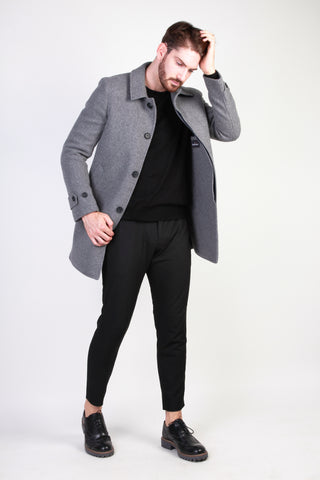 Made in Italia gray,darkblue Men Coats