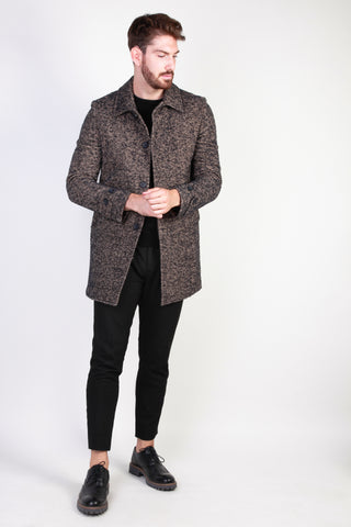 Made in Italia burlywood,midnightblue Men Coats