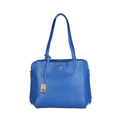Piero Guidi Blue Women Shoulder bags
