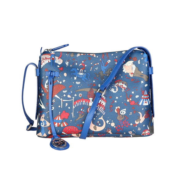 Piero Guidi Blue Women Crossbody Bags