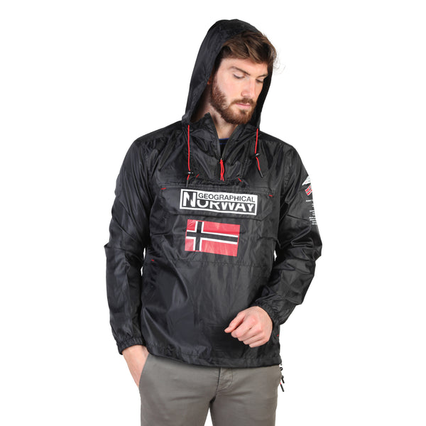 Geographical Norway Black Men Jackets