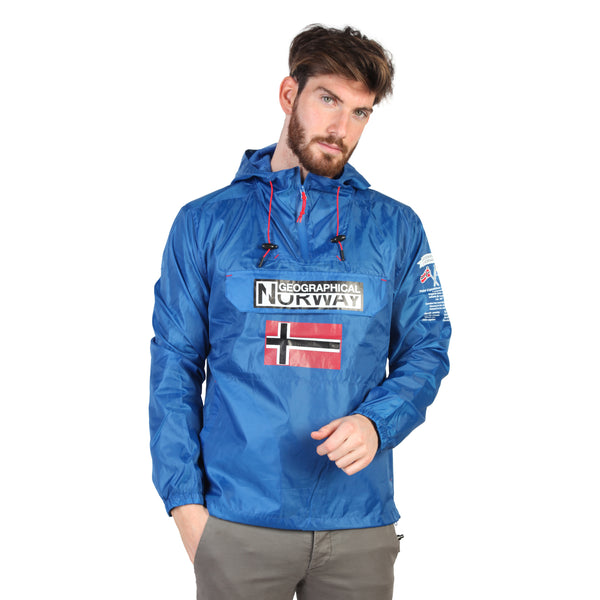 Geographical Norway Blue Men Jackets