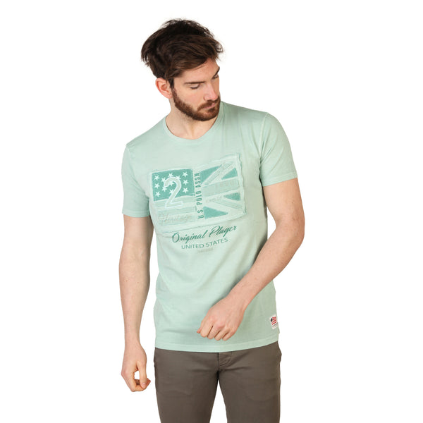 U.S. Polo Green Men T-shirts