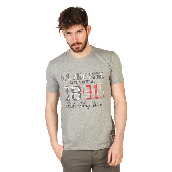 U.S. Polo Grey Men T-shirts
