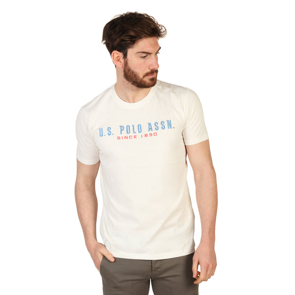 U.S. Polo White Men T-shirts