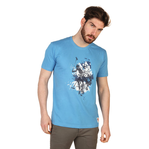 U.S. Polo Blue Men T-shirts