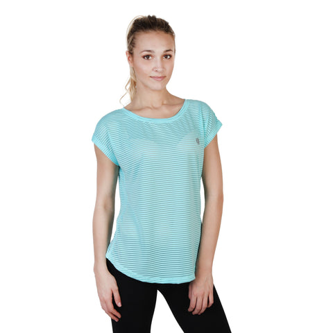 Elle Sport Blue Women T-shirts