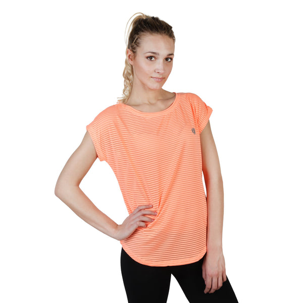 Elle Sport Orange Women T-shirts