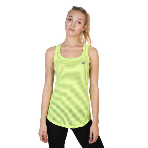 Elle Sport Green Women Tops
