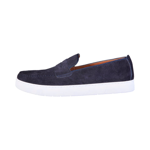 Pierre Cardin Blue Men Moccasins