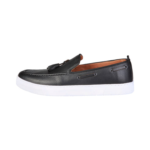 Pierre Cardin Black Men Moccasins