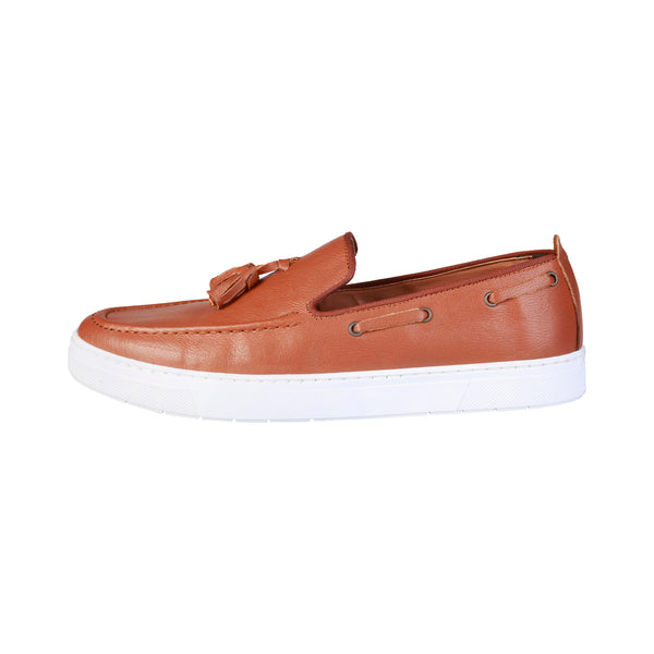 Pierre Cardin Brown Men Moccasins