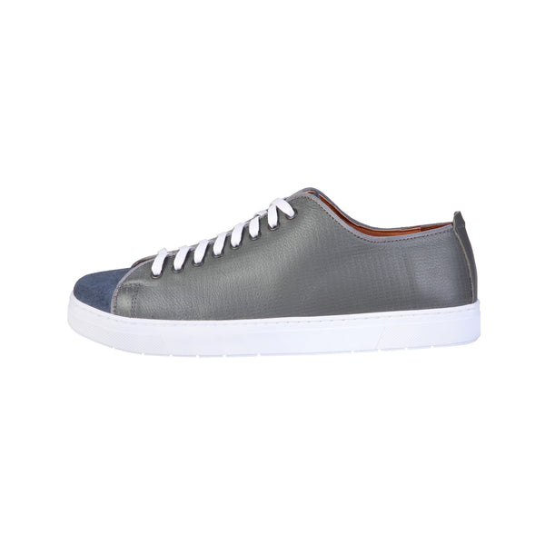 Pierre Cardin Grey Men Sneakers