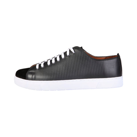 Pierre Cardin Black Men Sneakers