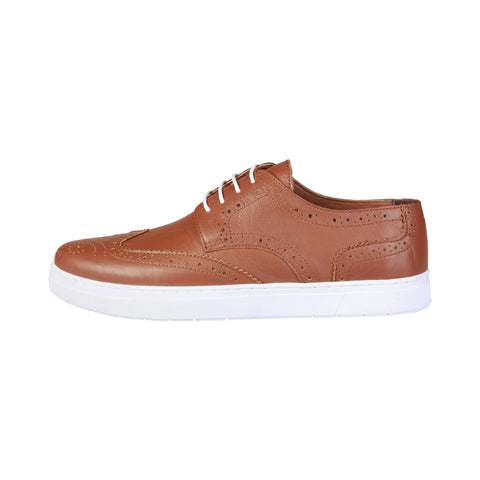 Pierre Cardin Brown Men Lace up