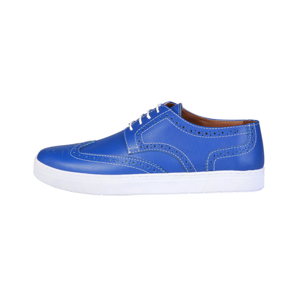 Pierre Cardin Blue Men Lace up