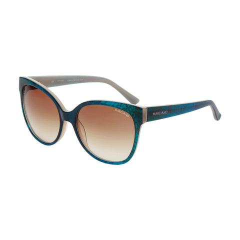 Guess by Marciano teal,saddlebrown Women Sunglasses