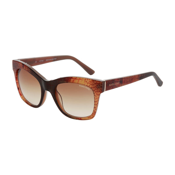 Guess by Marciano Brown Women Sunglasses
