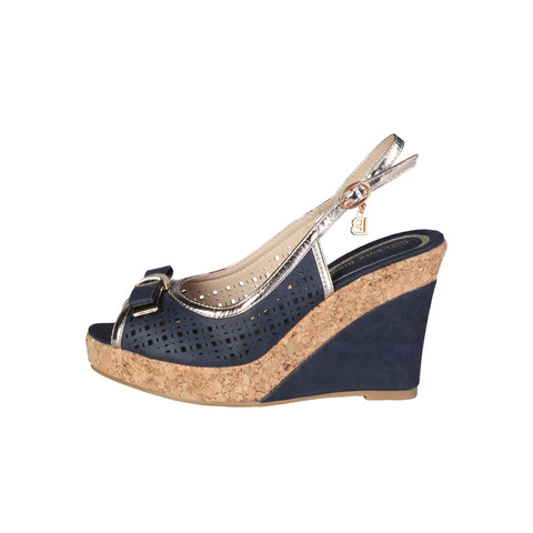 Laura Biagiotti Blue Women Wedges